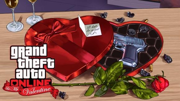 GTA V Sevgililer Gününü Es Geçmeyecek!