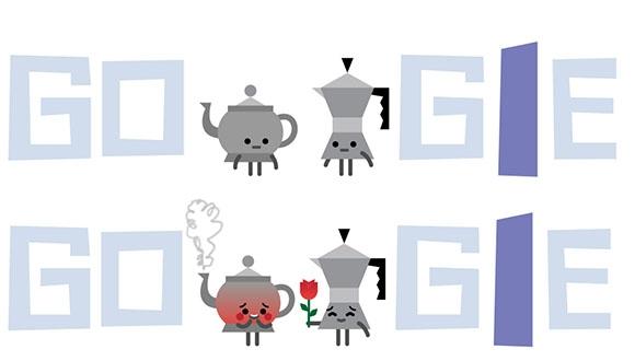 Google Sevgililer Günü İçin Doodle Hazırladı