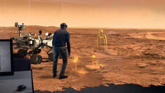 Microsoft Hololens ile Astronot Eğitilecek!