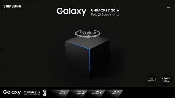Galaxy S7 Tanıtımı 360 Derece İzlenecek!