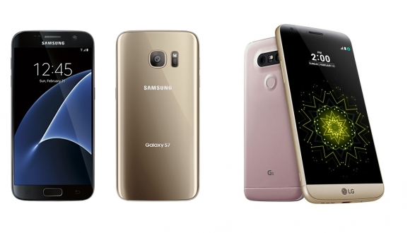 Galaxy S7 – LG G5 Karşılaştırması