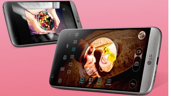 LG G5 Resmi Görselleri!