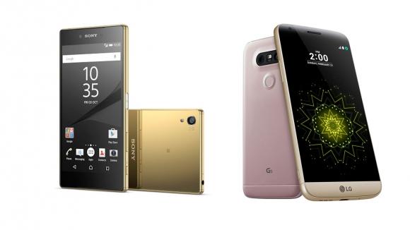 LG G5 – Xperia Z5 Premium Karşılaştırma