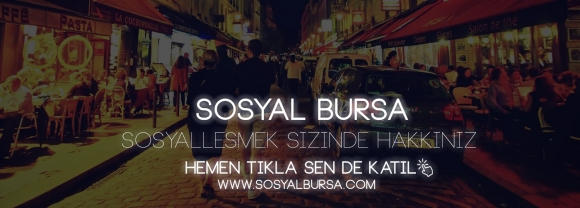 Bursa Şehrine Özel Sosyal Medya!