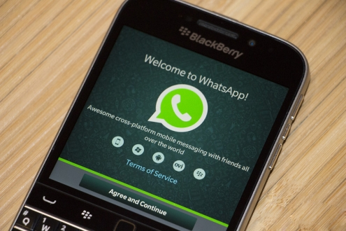 WhatsApp, BlackBerry Desteğini Sonlandırıyor