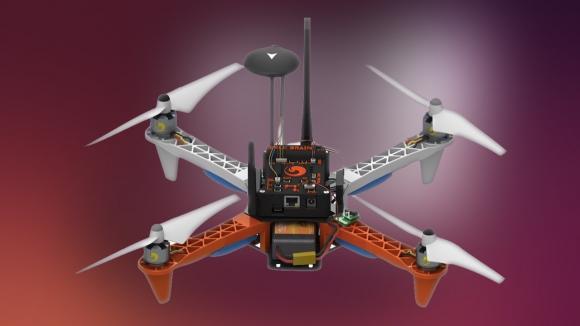 Ubuntu ile Çalışan Drone Elimizde