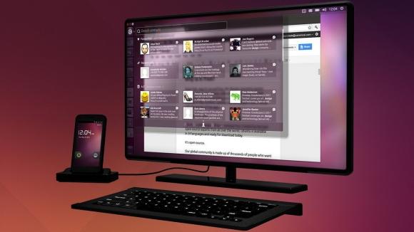 Ubuntu Telefonlar Bilgisayara Dönüşüyor