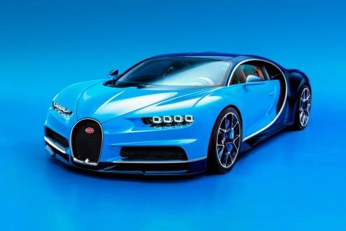 En Hızlı Araba Bugatti Chiron Tanıtıldı!
