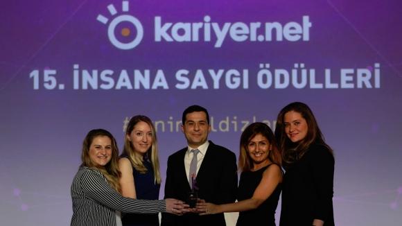 Teleperformance Türkiye'ye İnsana Saygı Ödülü