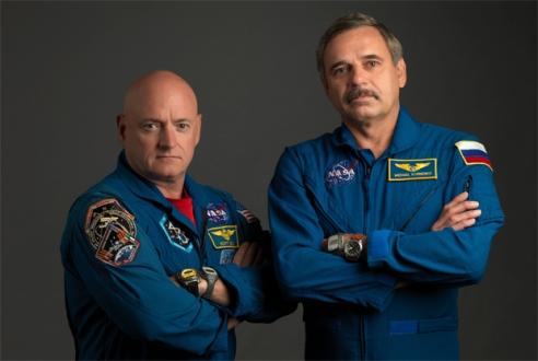 Uzayda Bir Yıllık Görev Tamamlandı