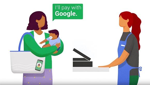 Yeni Google Ödeme Yöntemi Hands Free!