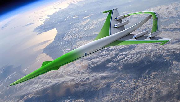 NASA Süpersonik Uçak Tasarlıyor!