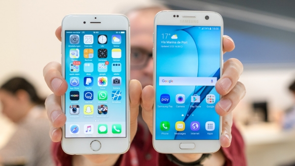 Galaxy S7 edge ile iPhone 6s Hız Testinde!