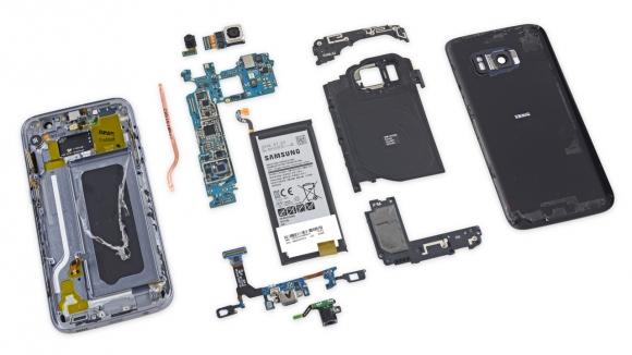 Galaxy S7 Parçalarına Ayrıldı