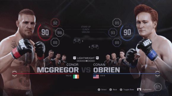 Conan O'Brien UFC 2'de!