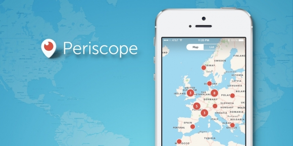 Periscope iOS için Güncellendi!