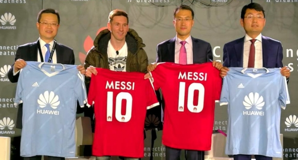 Messi Huawei'nin Marka Yüzü Oldu