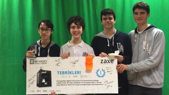 Türk Liselilerden Patent Başvurusu