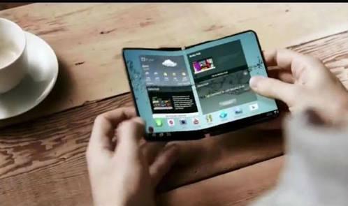 Samsung Katlanabilir Ekran Patentini Aldı!