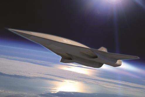 LM'nin Hipersonik Uçağı Sahne Alıyor