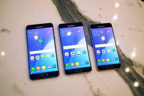 Samsung Galaxy C Serisi Geliyor