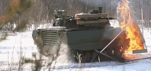 Rusya'nın Drone Tankı Görüntülendi