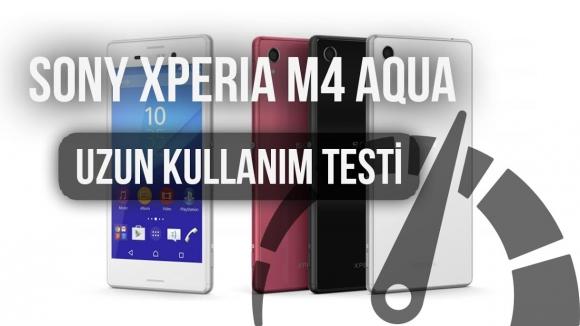 Xperia M4 Aqua: Uzun Kullanım Testi