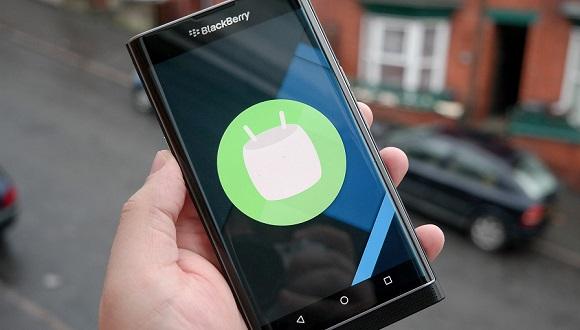BlackBerry Priv Android 6.0'a Güncelleniyor