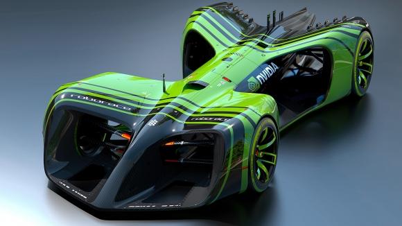 NVIDIA Sürücüsüz Yarış Aracını Tanıttı