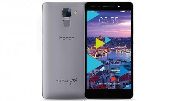 Türk Telekom Honor 7 Kutusundan Çıkıyor