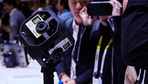 GoPro'dan Sanal Gerçeklik Kamerası