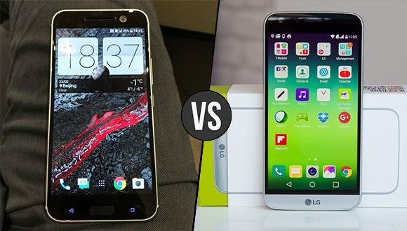 HTC 10 – LG G5 Karşılaştırma
