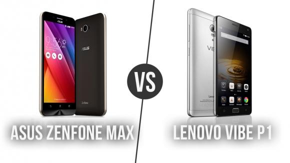 Lenovo VIBE P1 – ZenFone Max Karşılaştırma