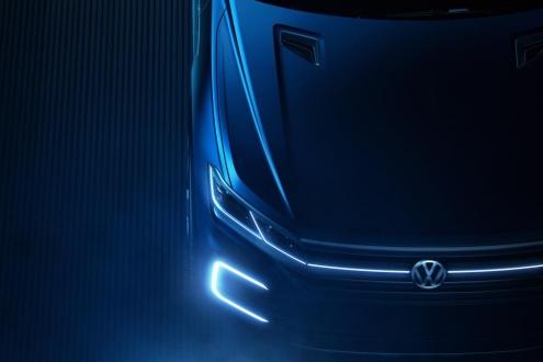 VW Hybrid Concept SUV Geliyor