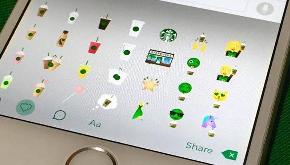 Starbucks Kahveleri Emoji Oldu!