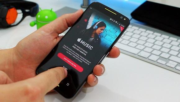Apple Music Android'de Video Destekliyor