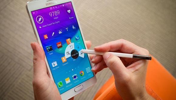 Galaxy Note 4'e Güncelleme Geldi