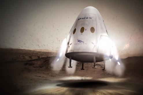 SpaceX İlk Mars Görevi için Tarih Verdi