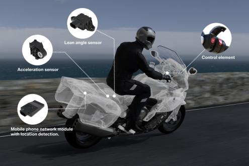 BMW Motosiklet Kazalarını Önleyecek!