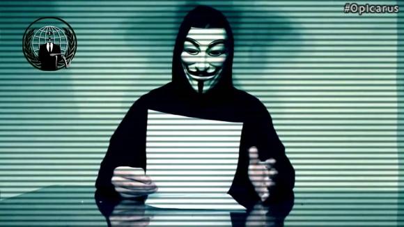 Anonymous, Yunanistan'ın Belini Büktü!