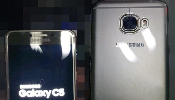 Samsung Galaxy C5 İlk Kez Ortaya Çıktı