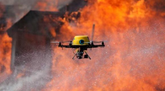 Drone Büyük Yangına Sebep Oldu!