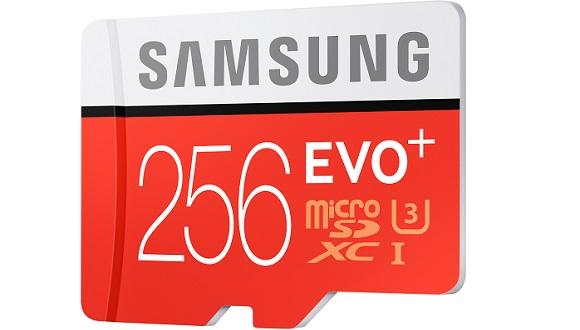 Samsung'dan 256GB Hafıza Kartı