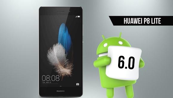 Huawei P8 Lite için Android 6.0 Başladı