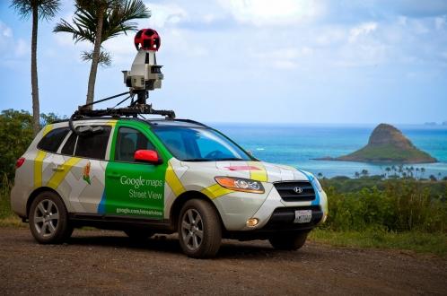 Sahte Google Street View Aracı!