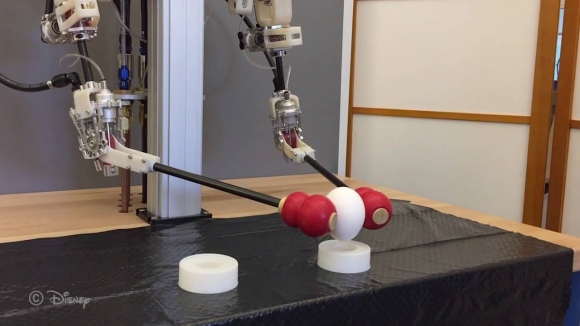 Disney İnsanları Taklit Eden Robot Yaptı