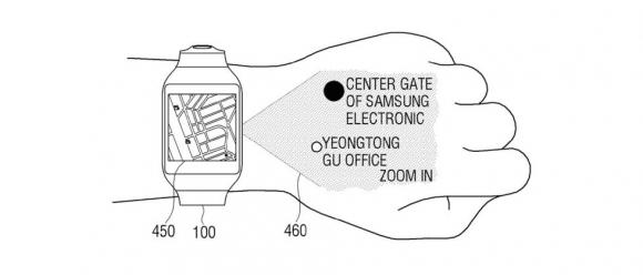 Samsung, Görüntüleri Elinize Yansıtacak