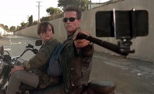 Silahlar Selfie Çubuğuna Dönüşürse