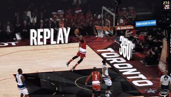 NBA'de Tekrarlar 360 Derece Gösteriliyor
