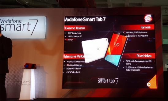 Vodafone Smart Tab 7 Tanıtıldı